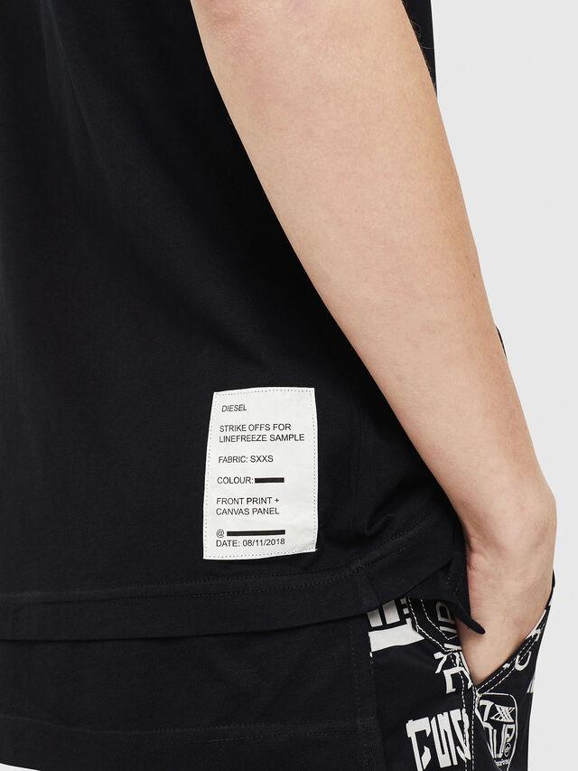 Diesel - T-YORI, Noir - T-Shirts - Image 4