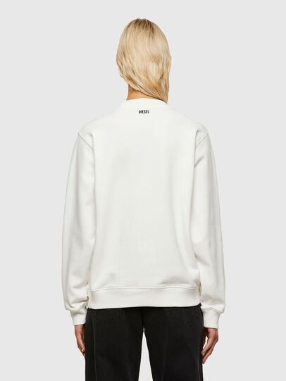 Diesel - F-ANG-R10, Blanc - Pull Cotton - Image 2