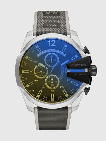 Montre chronographe Mega Chief en nylon noir