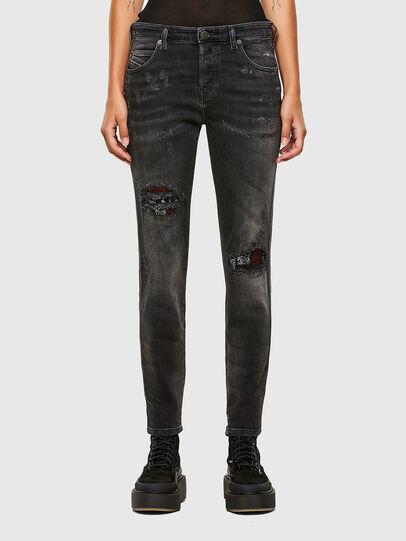 Diesel - Babhila 009JN, Noir/Gris foncé - Jeans - Image 1