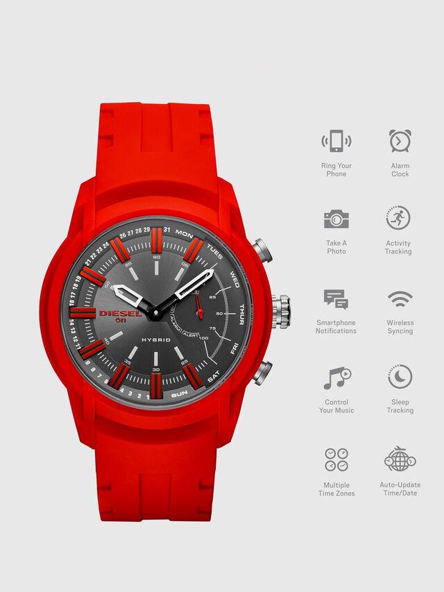 Diesel - DT1016, Rouge - Smartwatches - Image 1