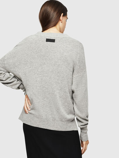 Diesel - M-CRISTAL, Gris - Pull Maille - Image 2