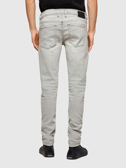 Diesel - Sleenker 009PY, Gris Clair - Jeans - Image 2