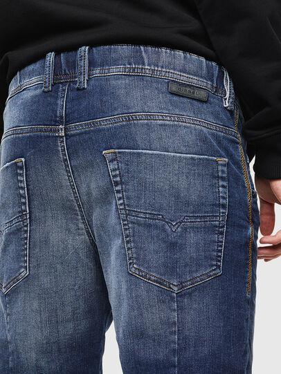 Diesel - D-KROOSHORT JOGGJEANS, Bleu Foncé - Shorts - Image 5