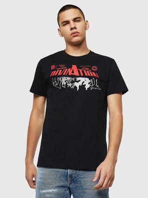 T-DIEGO-B12, Noir - T-Shirts