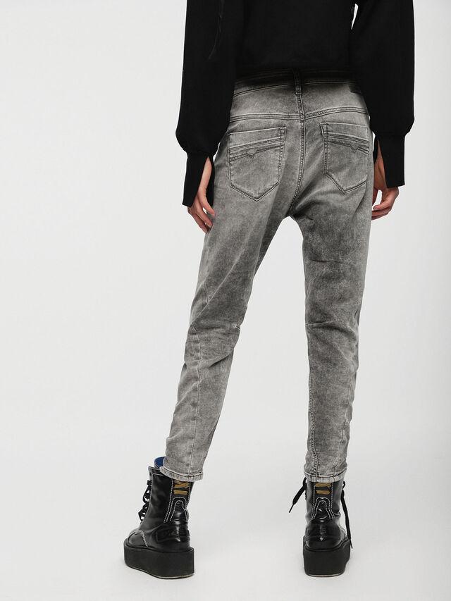 Diesel - Fayza JoggJeans 0855B, Gris Clair - Jeans - Image 2