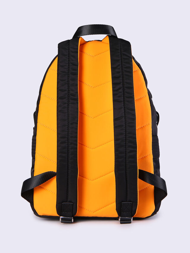 F-SUPERPASS BACK, Noir/Orange