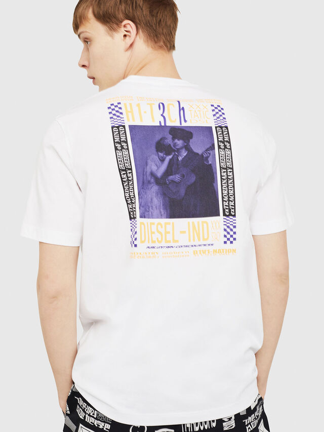 Diesel - T-JUST-Y15, Blanc - T-Shirts - Image 2