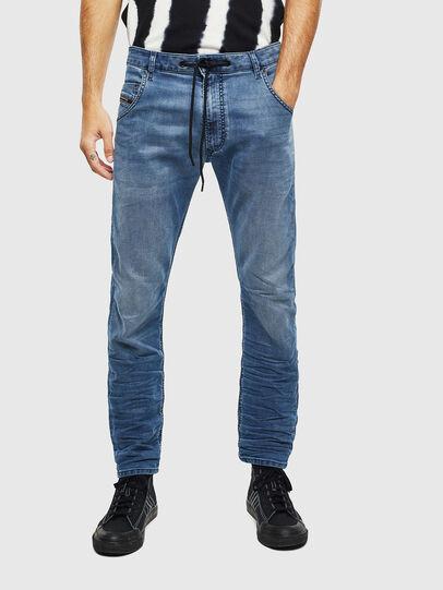Diesel - Krooley JoggJeans 069MA, Bleu moyen - Jeans - Image 3