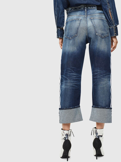 Diesel - D-Reggy 0096S, Bleu moyen - Jeans - Image 2