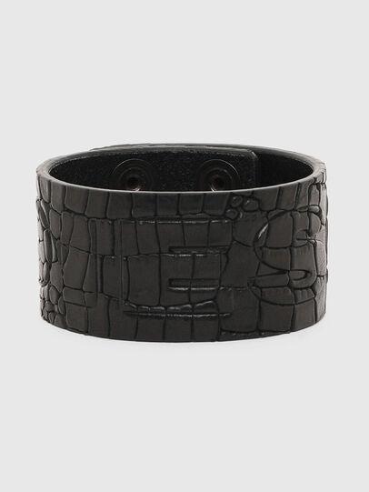 Diesel - A-CROCLE, Noir - Bijoux et Gadgets - Image 1