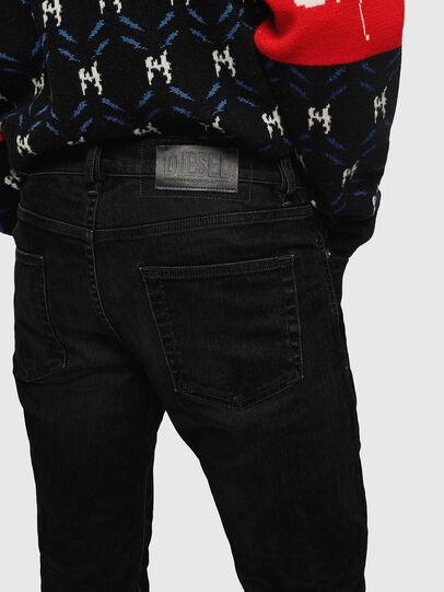 Diesel - D-Strukt 0091I, Noir/Gris foncé - Jeans - Image 5