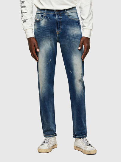 Diesel - D-Fining 009RS, Bleu Foncé - Jeans - Image 1