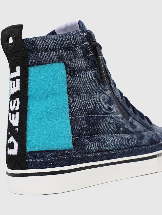 Diesel - D-VELOWS MID PATCH, Bleu - Baskets - Image 4