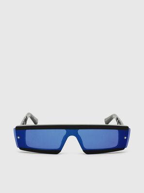 DL0318, Noir/Bleu - Lunettes de soleil