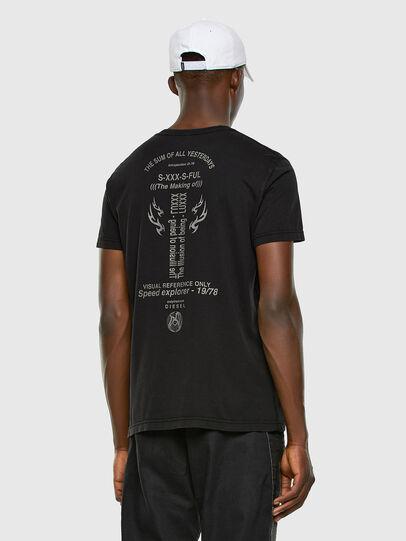 Diesel - T-DIEBIND, Noir - T-Shirts - Image 6
