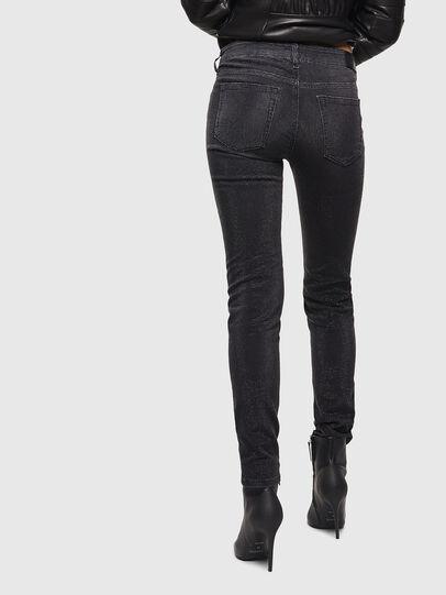 Diesel - D-Ollies JoggJeans 0093H, Noir/Gris foncé - Jeans - Image 2