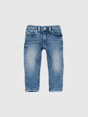 SLEENKER-B JOGGJEANS-N, Bleu moyen - Jeans