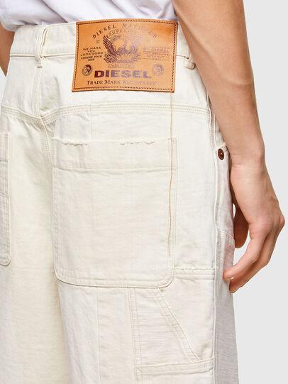 Diesel - D-FRANS-SP1, Blanc - Shorts - Image 4