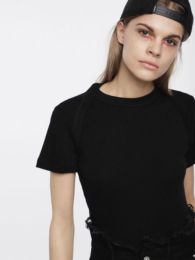 Diesel - T-SALI-A, Noir - T-Shirts - Image 3
