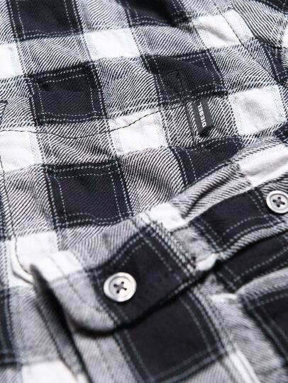 Diesel - CANOBJ, Noir/Blanc - Chemises - Image 3