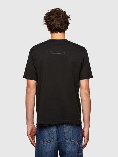 Diesel - T-JUST-A34, Noir - T-Shirts - Image 2