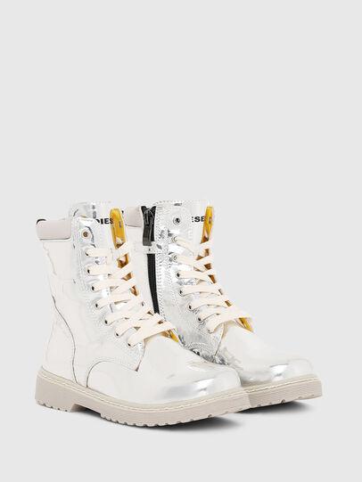 Diesel - HB LACE UP 04 YO, Gris argenté - Footwear - Image 2