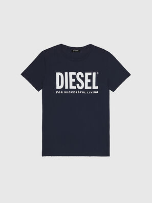 T-DIEGO-LOGO, Bleu Foncé - T-Shirts