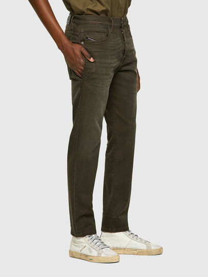 Diesel - D-Fining-Chino 0699P, Vert Militaire - Jeans - Image 4
