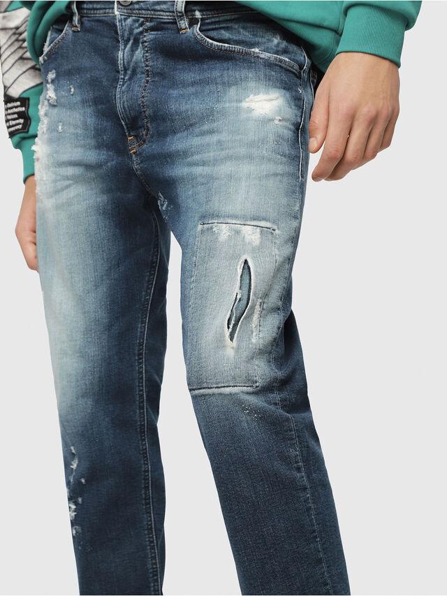 Diesel - Narrot JoggJeans 087AK, Bleu Foncé - Jeans - Image 3