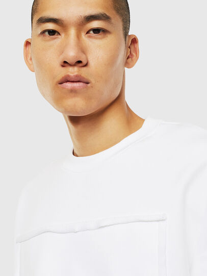 Diesel - S-BAY-RAW, Blanc - Pull Cotton - Image 3