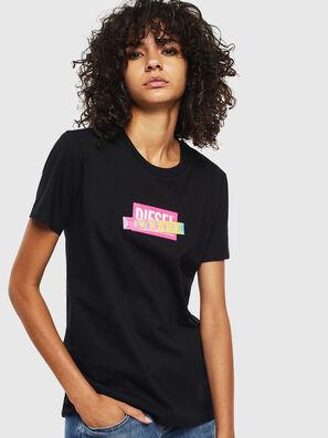 T-SILY-S2, Noir/Rose - T-Shirts