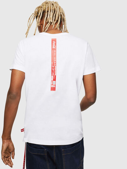 Diesel - CC-T-DIEGO-COLA, Blanc - T-Shirts - Image 3