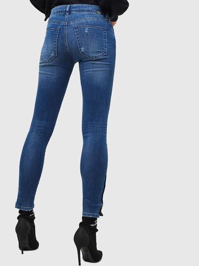 Diesel - Slandy Zip 089AI, Bleu moyen - Jeans - Image 2