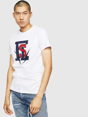 T-DIEGO-B3, Blanc - T-Shirts