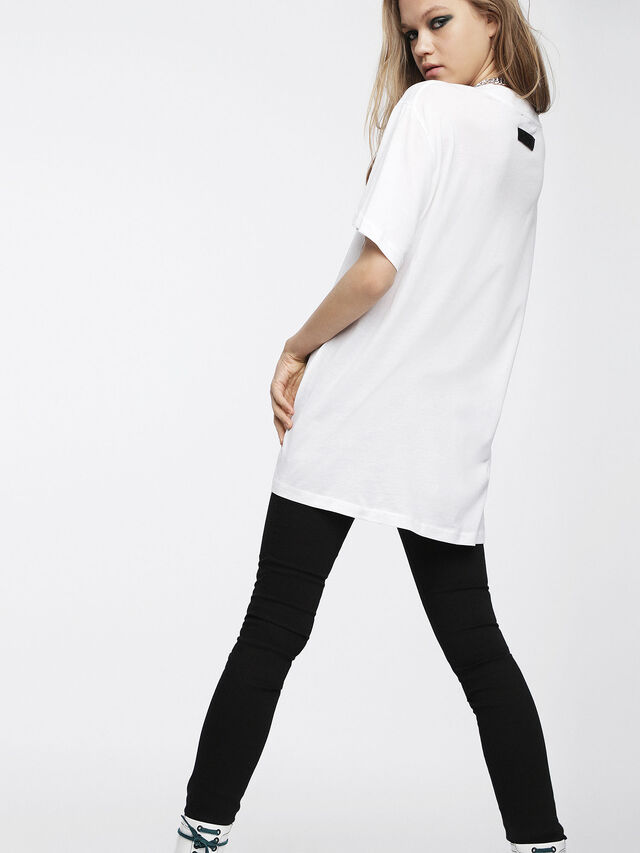 Diesel - T-OVERY-A, Blanc - T-Shirts - Image 2