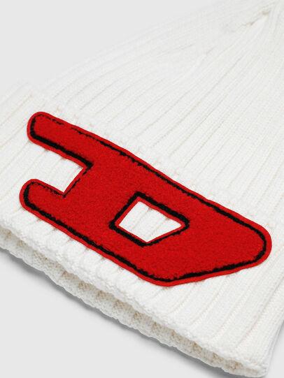 Diesel - K-CODER-D, Blanc - Bonnets - Image 3