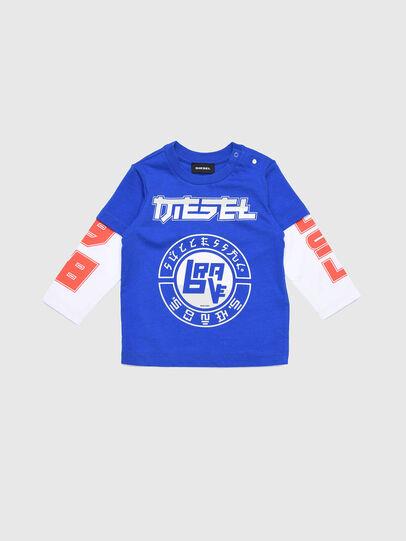Diesel - TUCOB, Bleu/Blanc - T-shirts et Hauts - Image 1