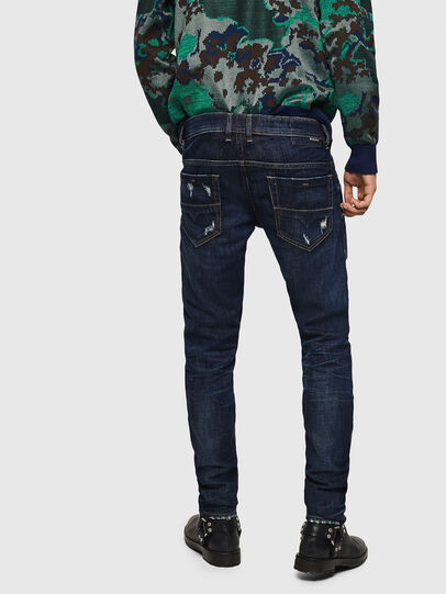 Diesel - Thommer 0890W, Bleu Foncé - Jeans - Image 2