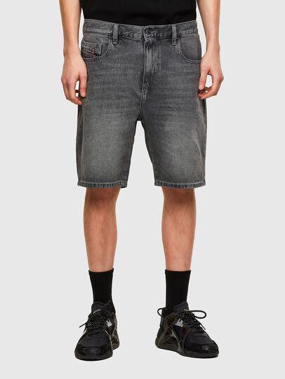 Diesel - D-STRUKT-SHORT, Noir - Shorts - Image 1