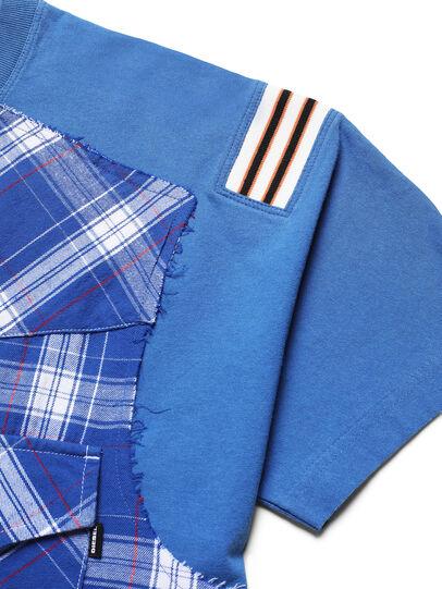 Diesel - D-WESTERNSPORT, Bleu Clair - T-Shirts - Image 3