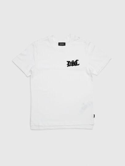 Diesel - TJUSTXMAS, Blanc - T-shirts et Hauts - Image 1