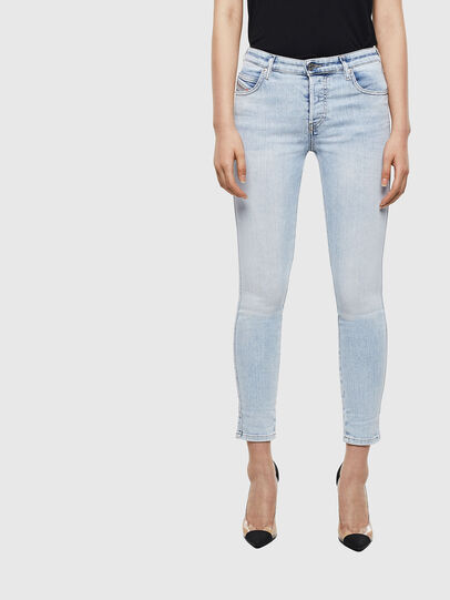 Diesel - Babhila 009AC, Bleu Clair - Jeans - Image 1