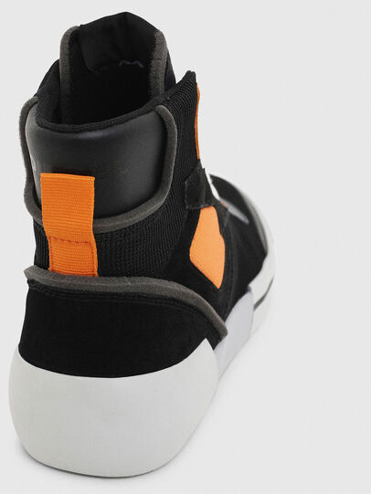 Diesel - S-DESE MS, Noir/Orange - Baskets - Image 6