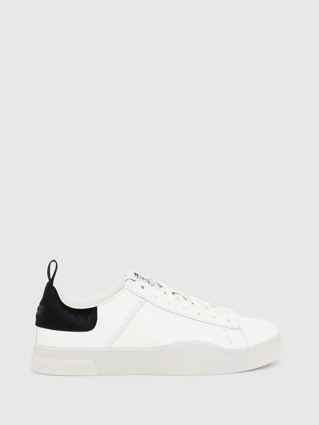 S-CLEVER LOW LACE, Blanc/Noir - Baskets
