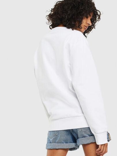 Diesel - S-GIRK-S3, Blanc - Pull Cotton - Image 4