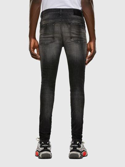 Diesel - D-Reeft JoggJeans 009FX, Noir/Gris foncé - Jeans - Image 2