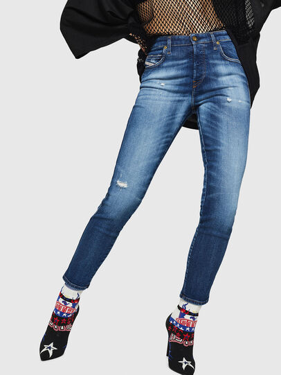 Diesel - Babhila 069FY, Bleu moyen - Jeans - Image 1