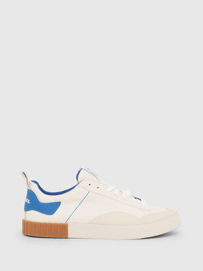 S-BULLY LC, Blanc/Bleu - Baskets