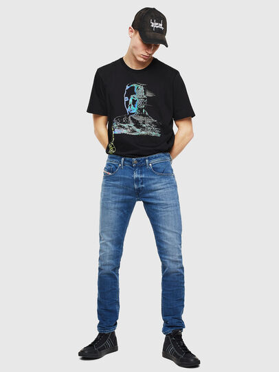 Diesel - Thommer 0097X, Bleu moyen - Jeans - Image 6